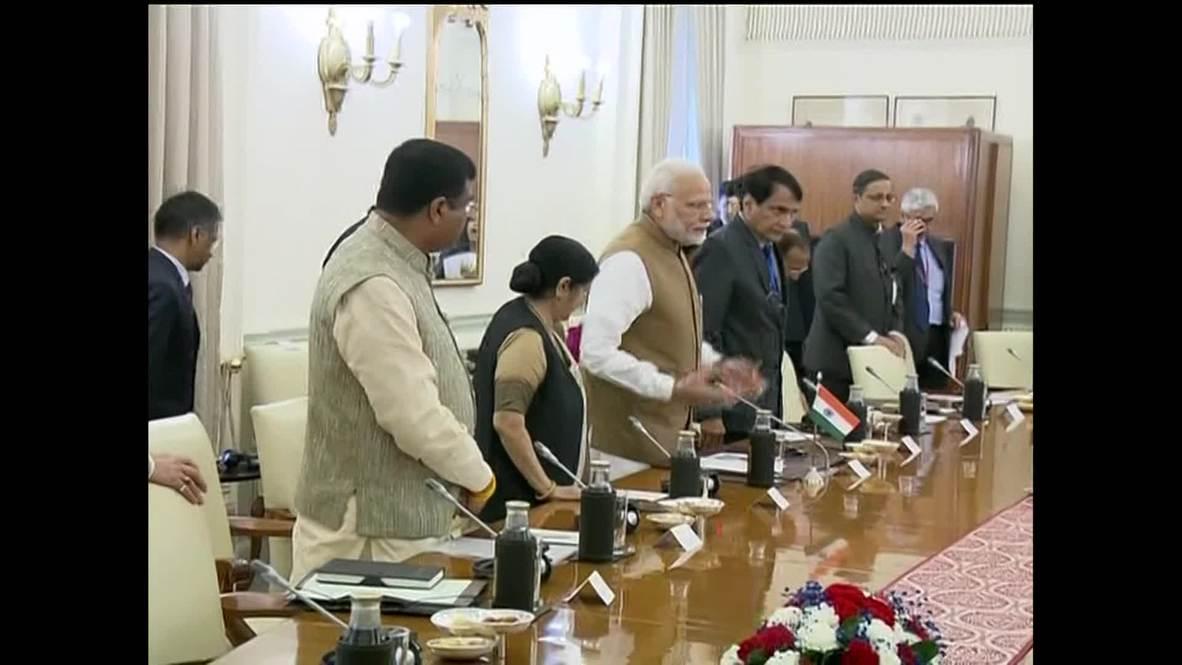 India: Modi and Putin meet for talks