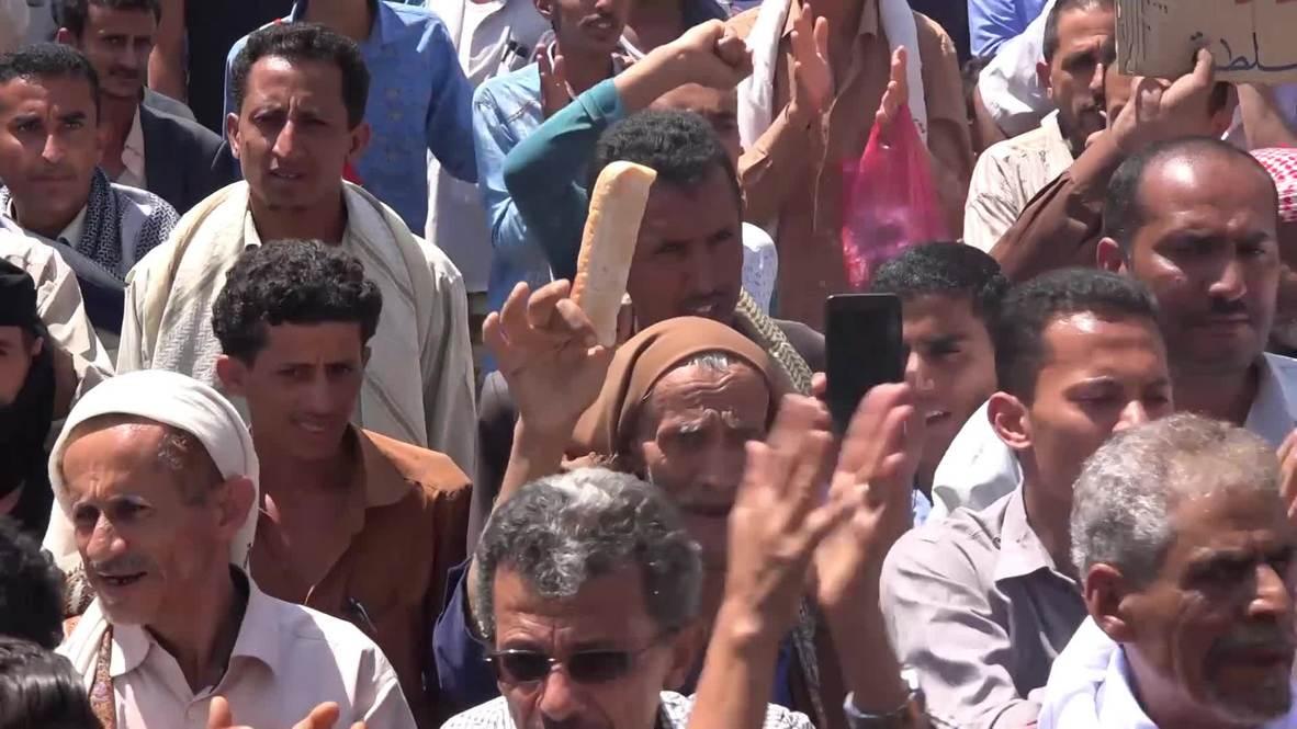 Yemen: Protests continue in Taiz as humanitarian crisis worsens
