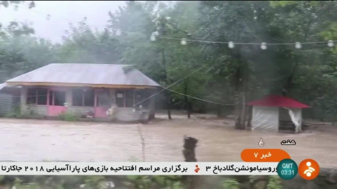 Irán: 7 muertos mientras las inundaciones continúan en el norte de Irán