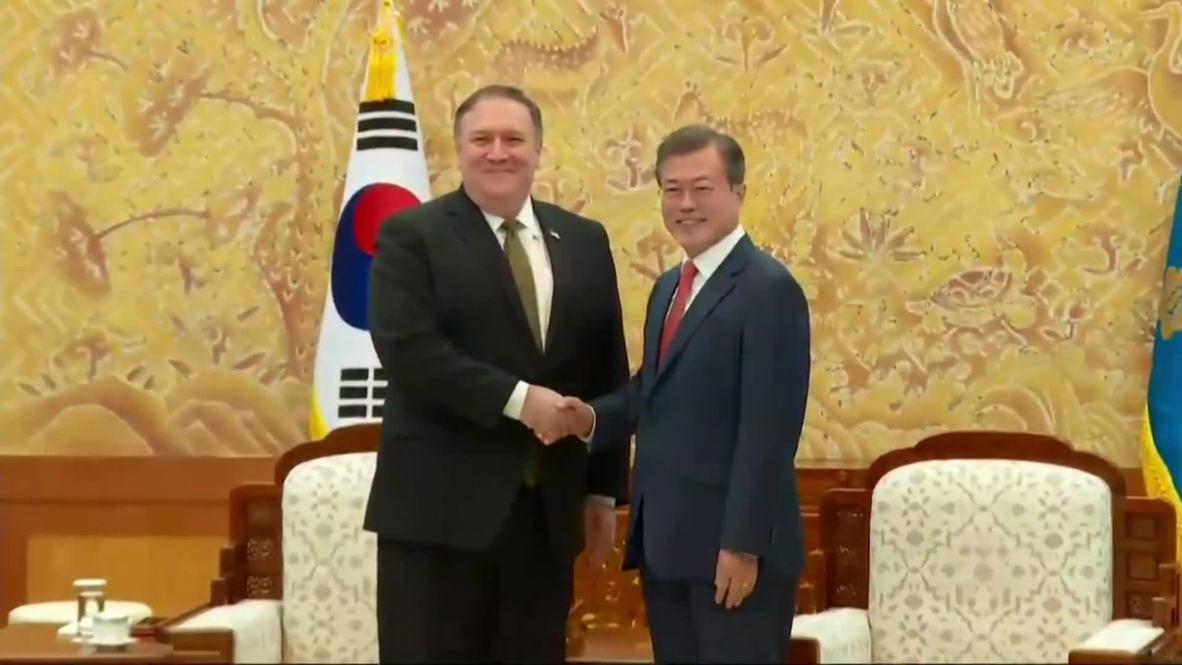 South Korea: Pompeo stops in Seoul after North Korea visit