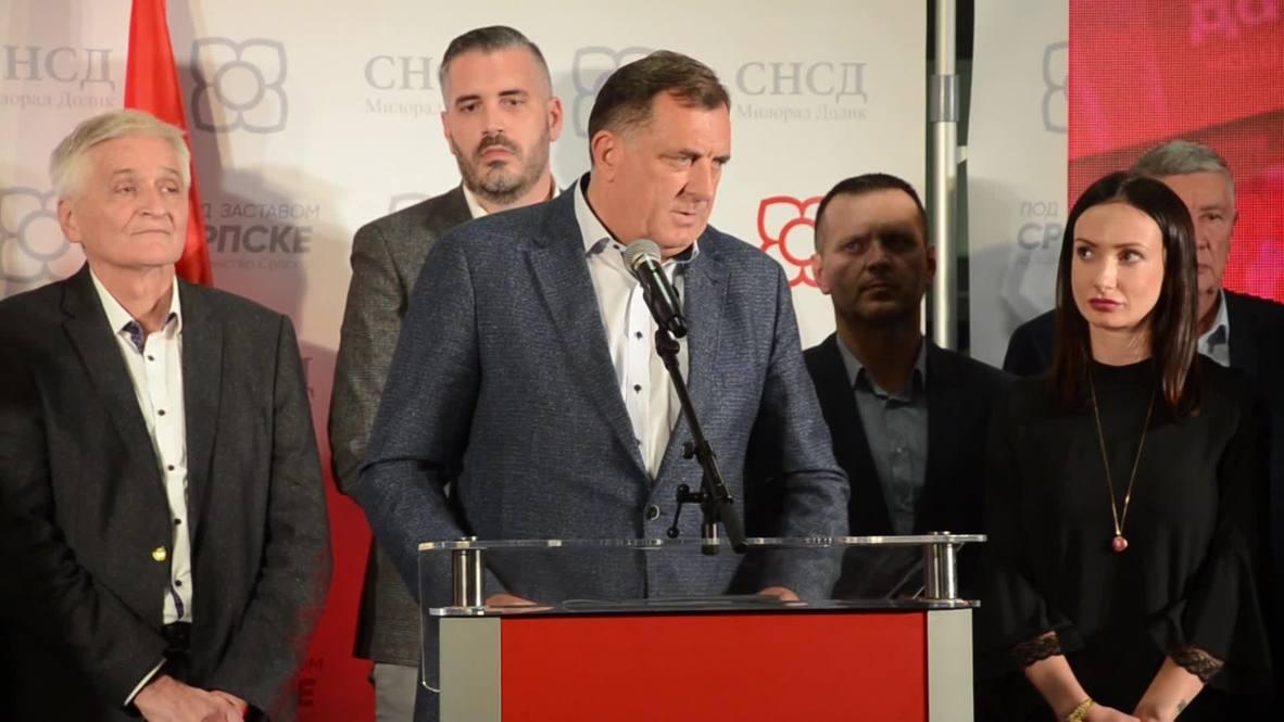 Bosnia and Herzegovina: Serb leader Dodik wins seat in Bosnia's presidency