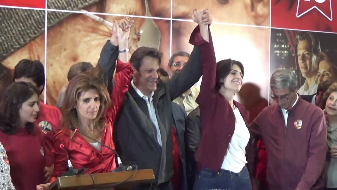 Brasil: Haddad tantea posibles alianzas electorales para la segunda ronda de las elecciones presidenciales