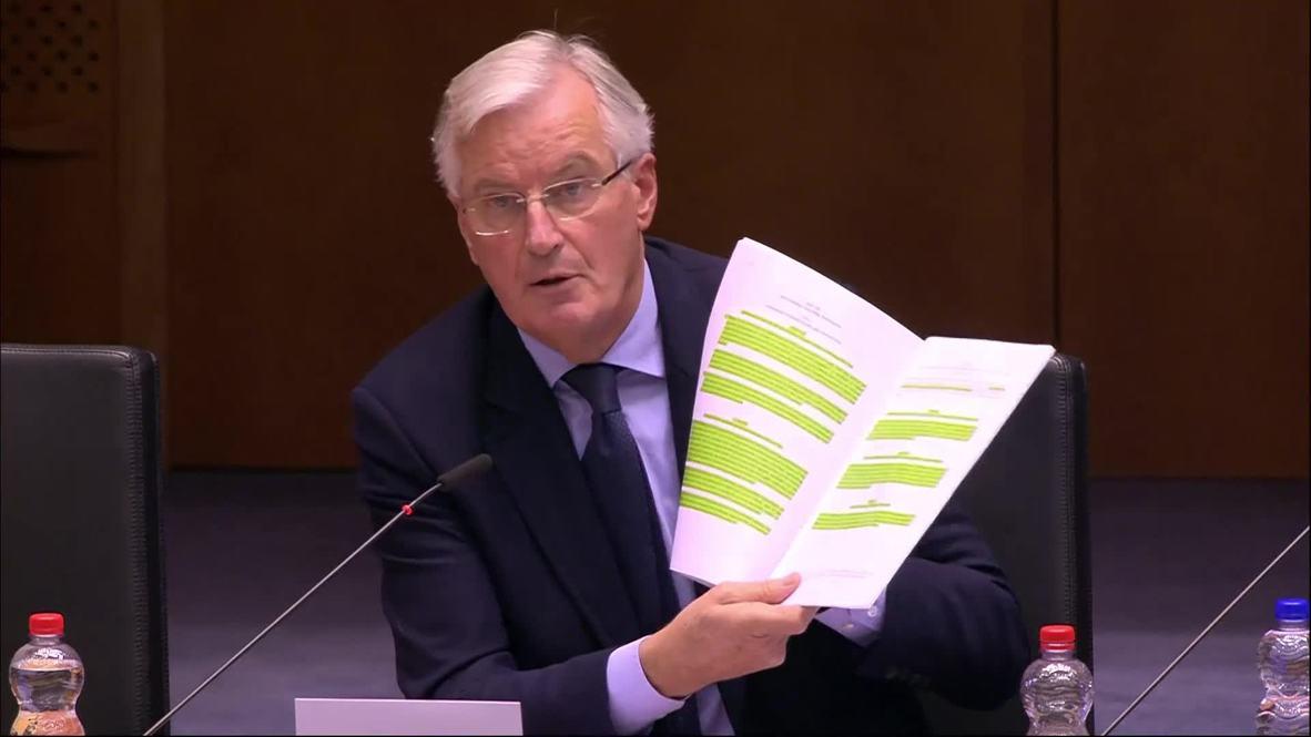 Belgium: Brexit deal 'within reach' but hurdles remain, says Barnier