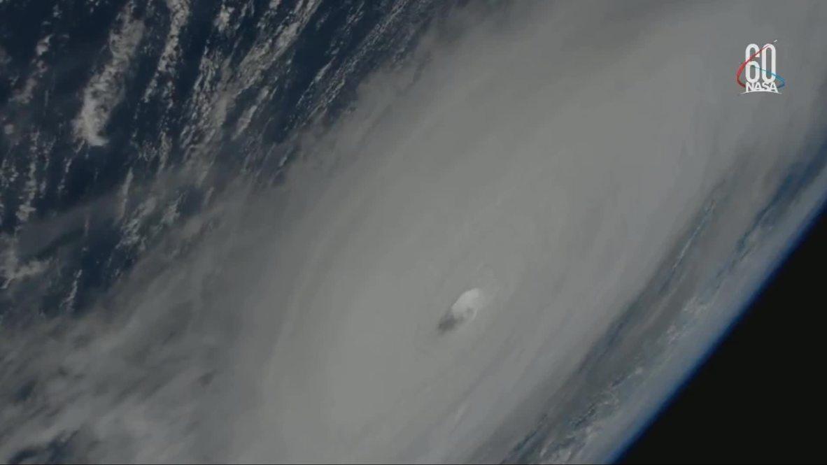 ISS: Huracán Michael golpea EE.UU. - Imágenes de la ISS