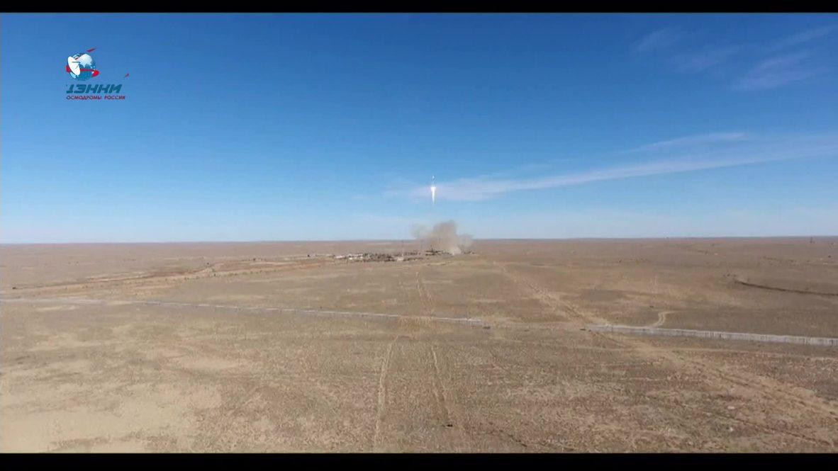 Kazakhstan: Hear moment control room announces Soyuz MS-10 booster failure