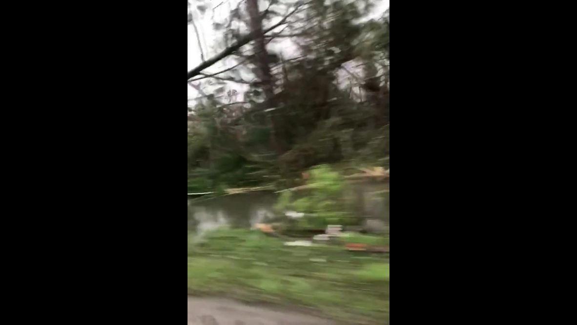 USA: Hurricane Michael devastates Panama City
