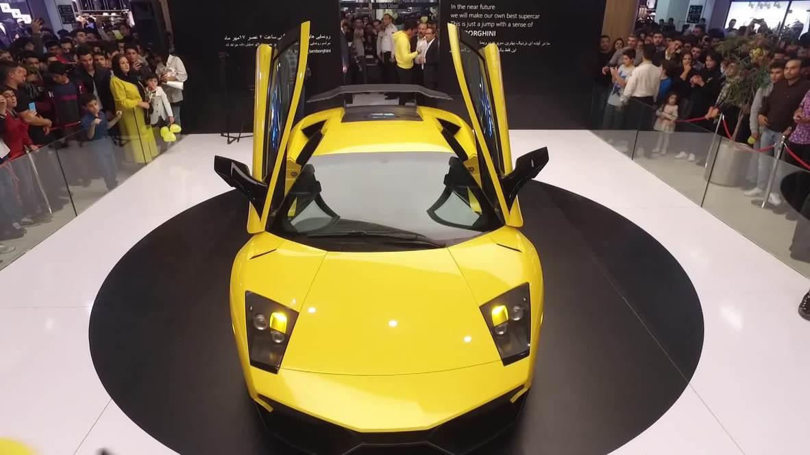 Iran: Iranian team reveals reverse-engineered Lamborghini Murcielago SV