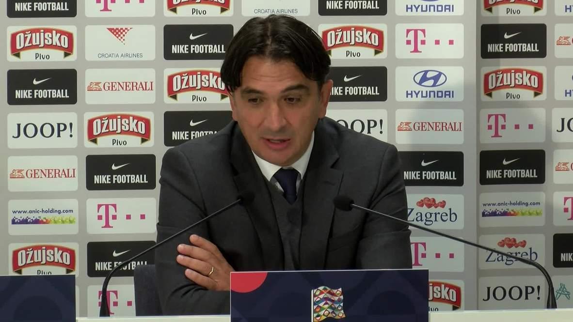 Croatia: 'Sad for football' - Dalic on fanless stalemate vs. England