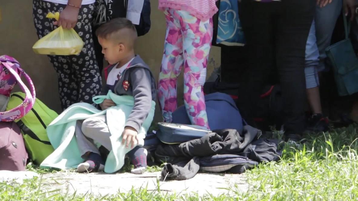 Honduras: Migrant caravan prepares for 'American Dream' journey