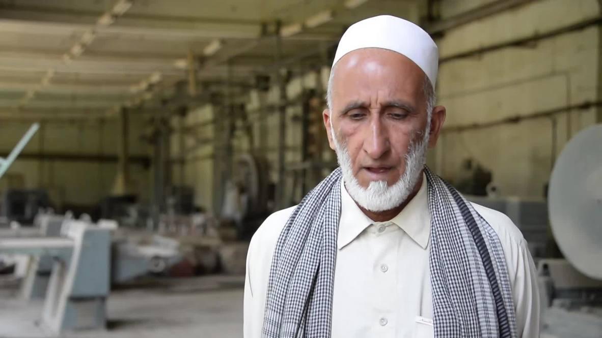 Afghanistan: Wheels still turning at Soviet-era olive factory in Jalalabad