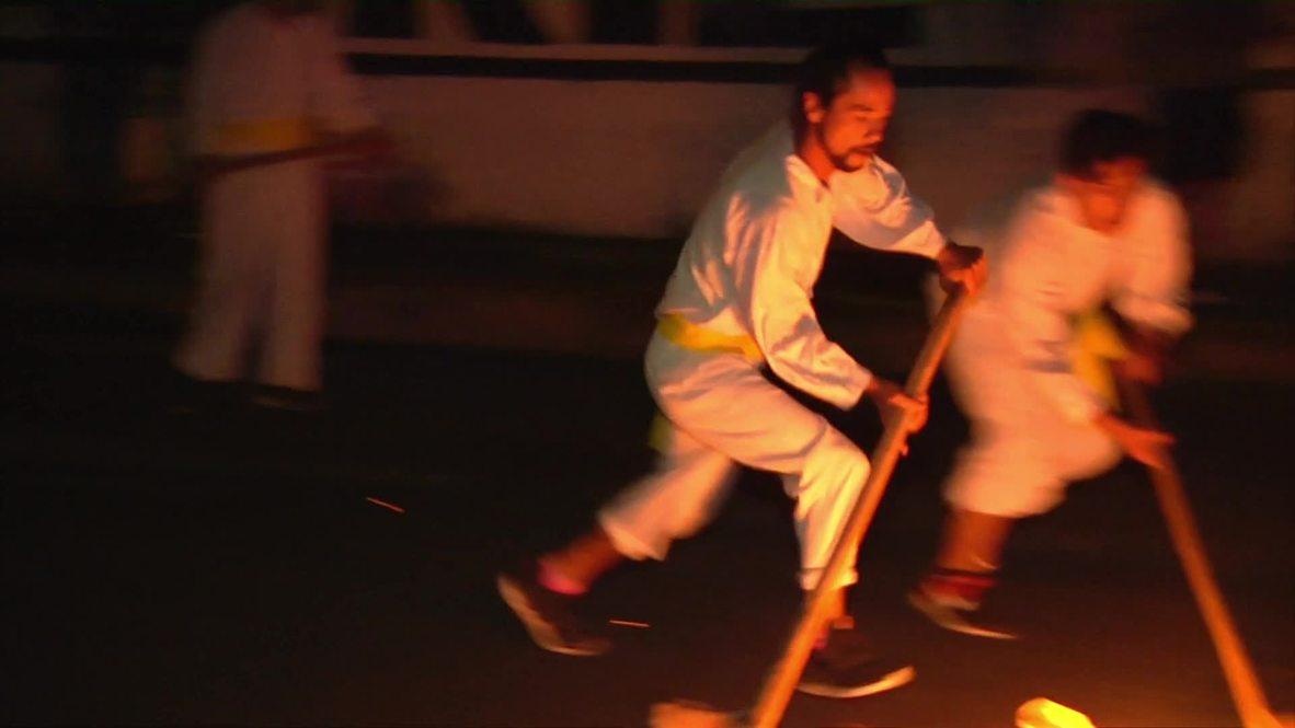 México: Regresa el juego de pelota prehispánico