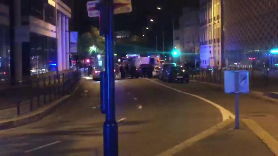 Francia: La policía detiene a un conductor tras una persecución en un suburbio de París