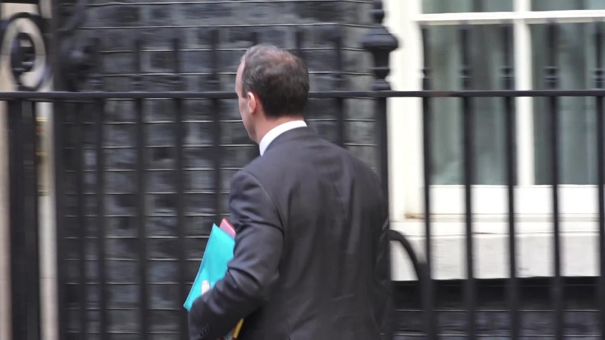 Reino Unido: La frontera irlandesa encabeza la agenda antes de la reunión entre Reino Unido y la UE para el brexit