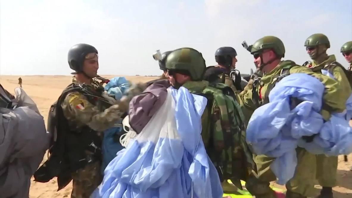 Egypt: Joint Russia-Egypt 'Defender of Friendship 2018' drills underway