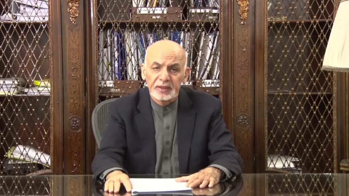 Afganistán: 'Fuerte pérdida' - Presidente Ghani comparte sus condolencias tras ataque en Kandahar