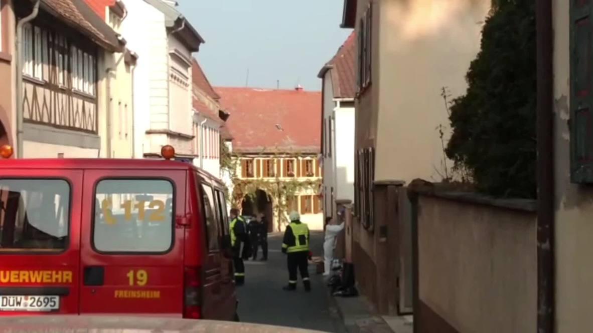 Alemania: Dos muertos en un tiroteo con la policía en Kirchheim