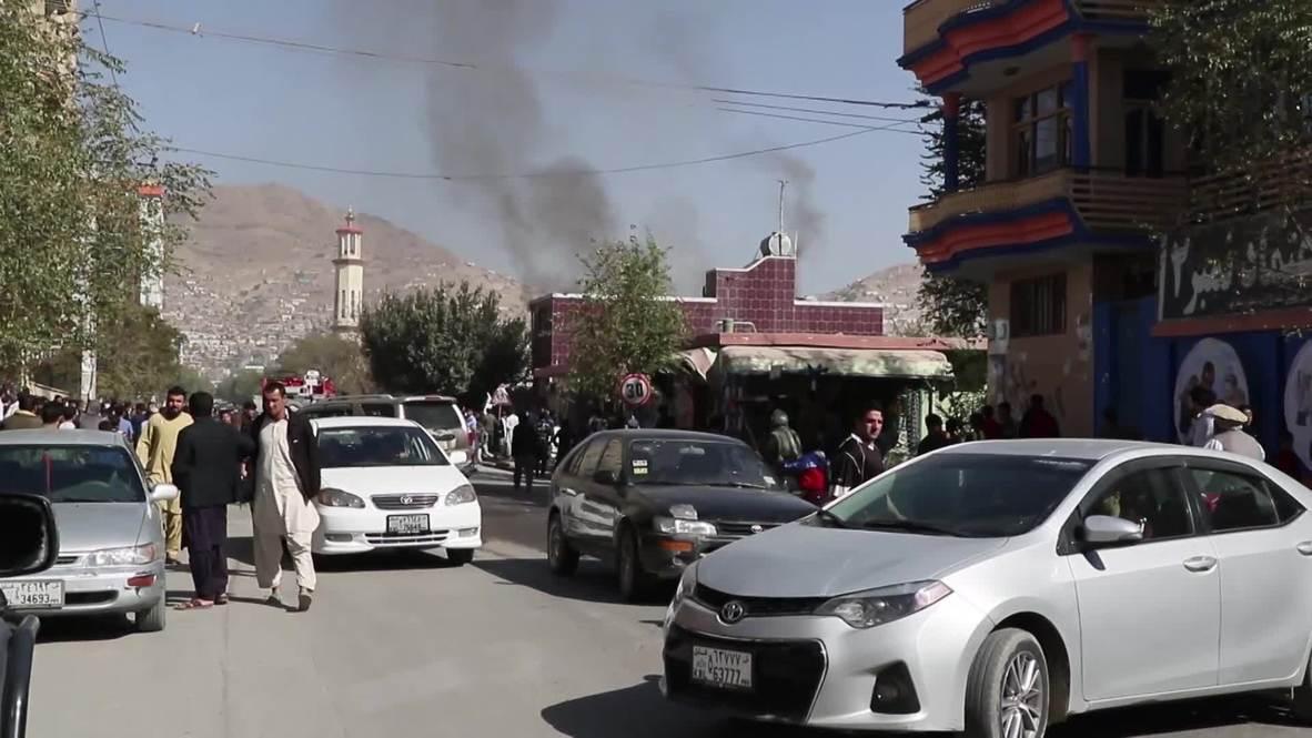 Afganistán: Múltiples explosiones en varios colegios electorales de Kabul