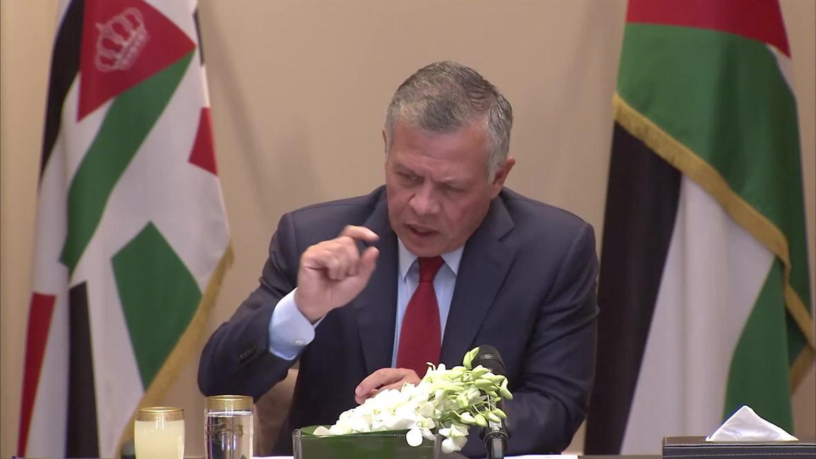Jordan: King Abdullah II announces end to Israeli land lease of Ghumar and Baqura