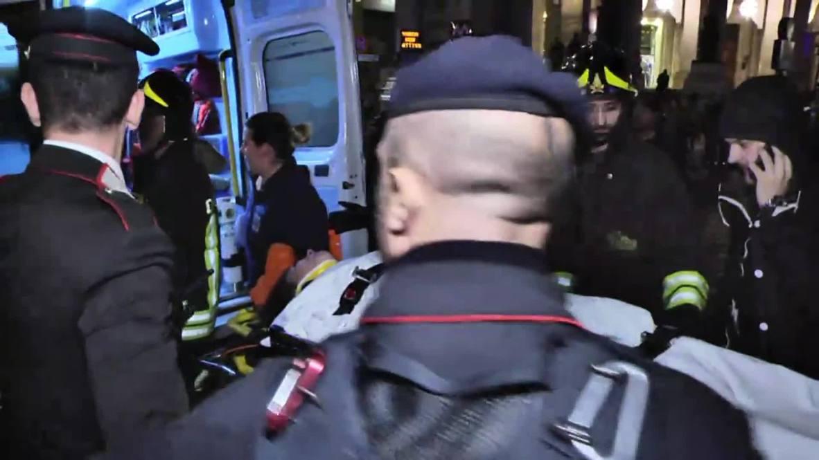 Italia: Un hincha del CSKA de Moscú relata su experiencia tras el accidente en el metro de Roma