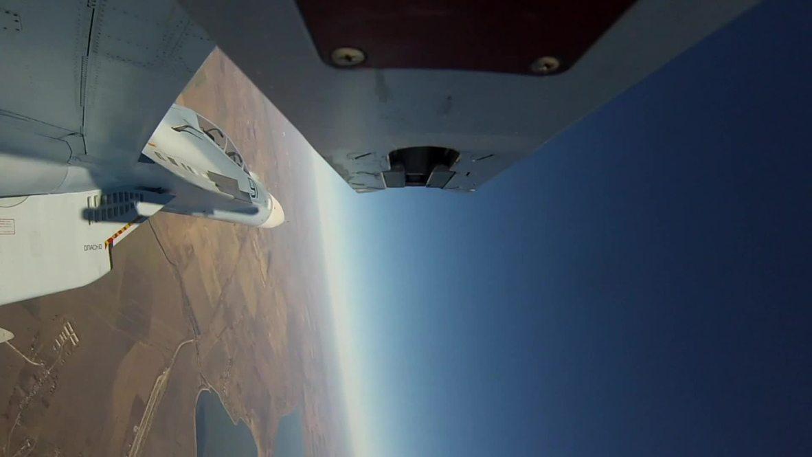 Rusia: Las Fuerzas Aéreas rusas participan en simulacros en el cielo de Kuban
