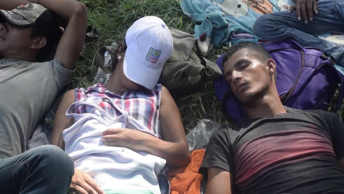 México: La caravana de migrantes se despide de Chiapas mientras sigue hacia la frontera con EE.UU.