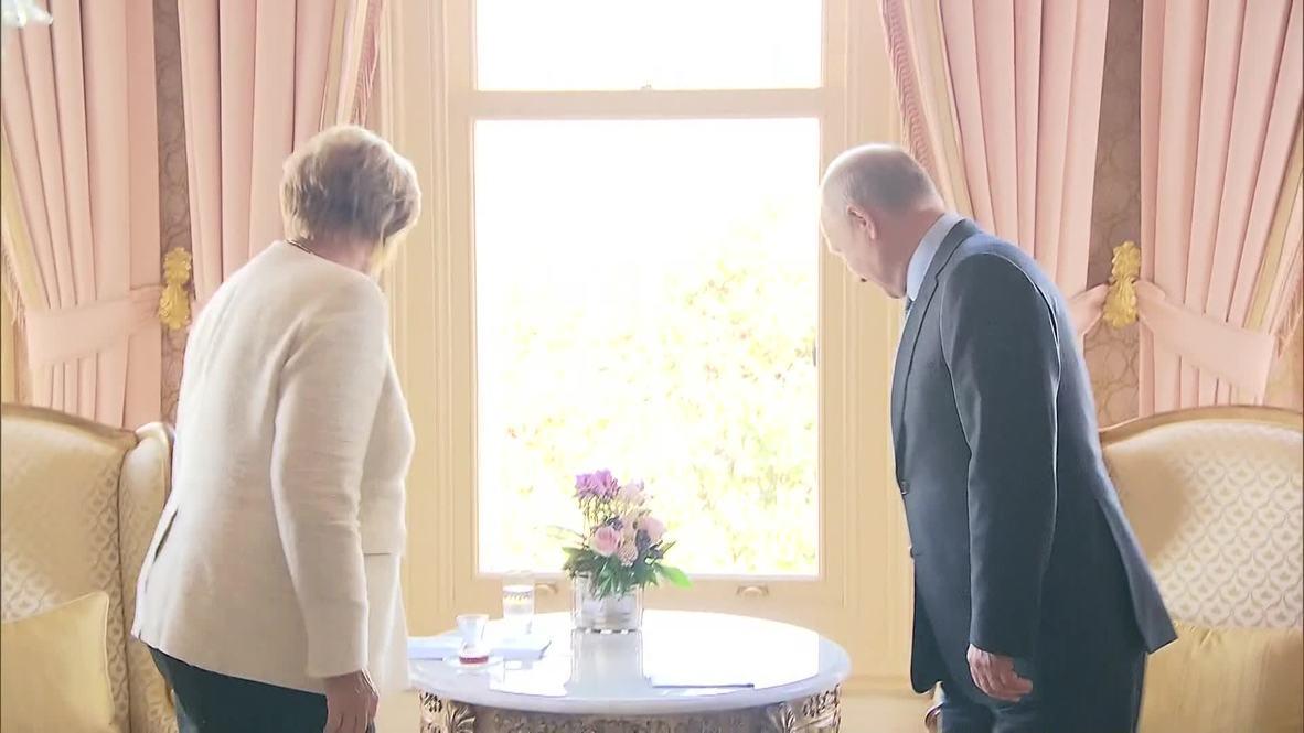 Turkey: Putin and Merkel meet at Syria summit in Istanbul
