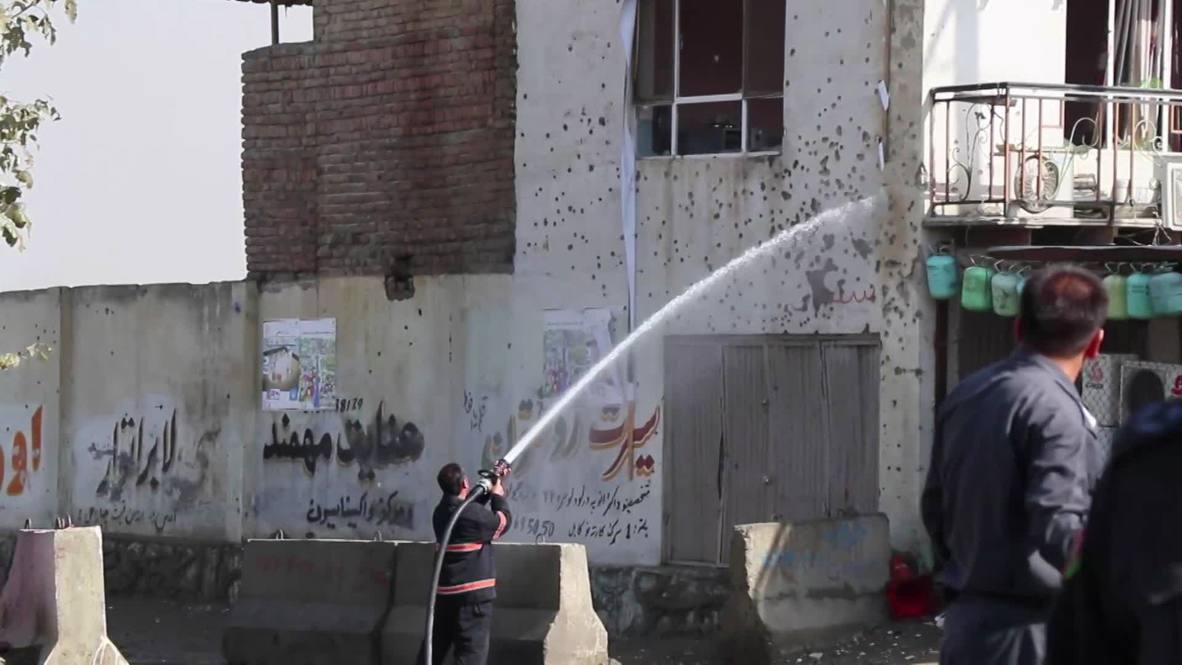 Afganistán: Al menos un muerto y seis heridos en un ataque suicida contra la Comisión Electoral en Kabul