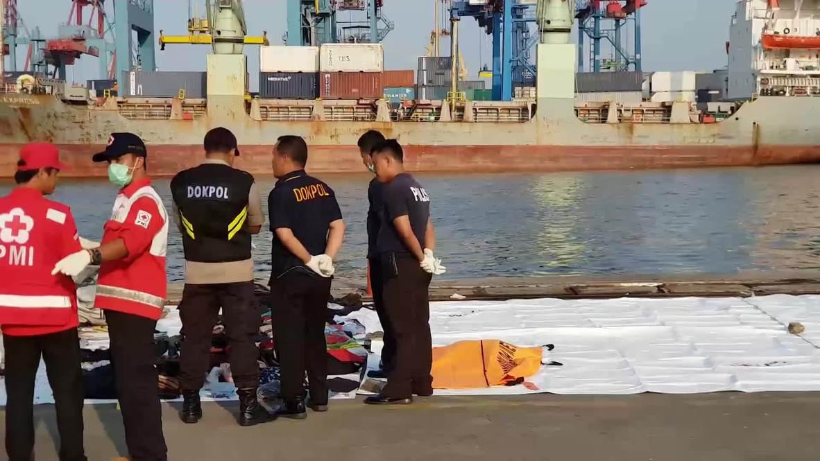 Indonesia: Recuperan seis cuerpos tras el accidente de avión de Lion Air
