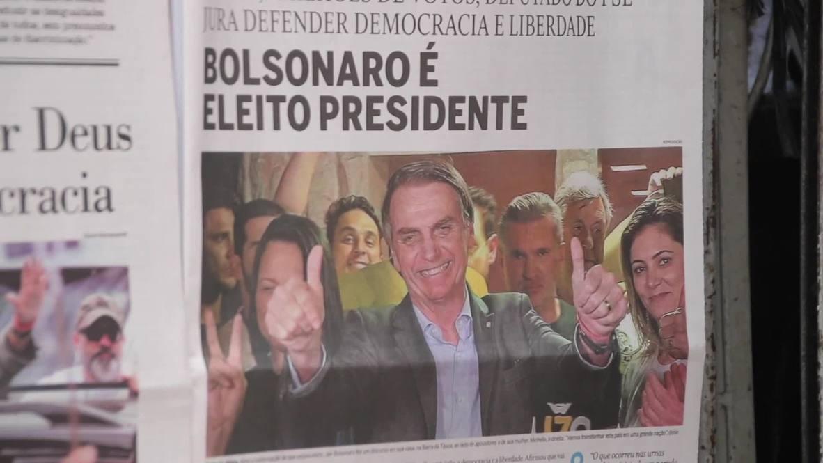 Brazil: 'He's not Islamic, he's a good guy!' - Rio reacts to Bolsonaro win