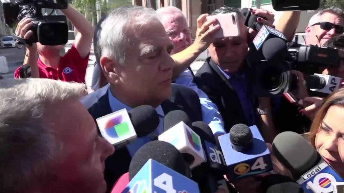 EE.UU.: El sospechoso de enviar 'bombas por correo' aparece ante la corte de Miami