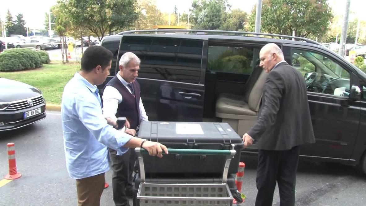 Turkey: Trunks taken to airport as Saudi top prosecutor leaves Istanbul