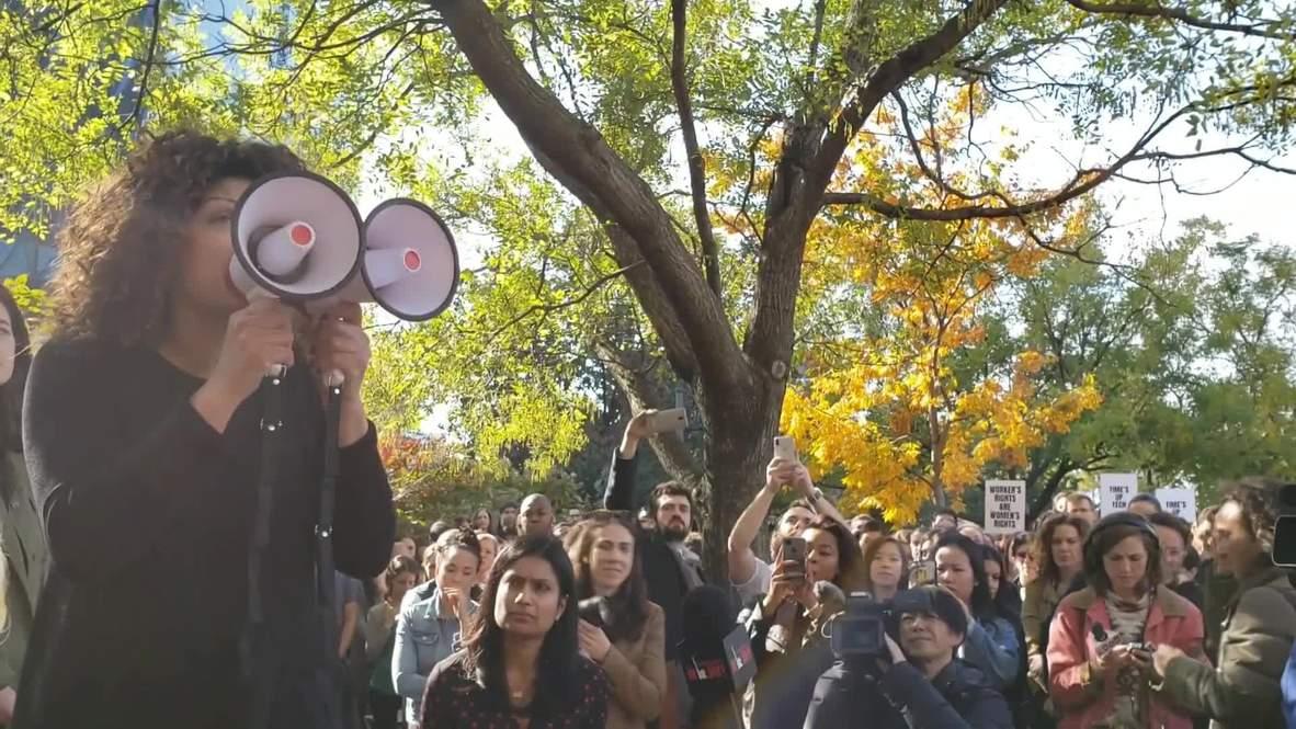EE. UU.: Los trabajadores de Google salen a la calle contra el acoso sexual en la compañía