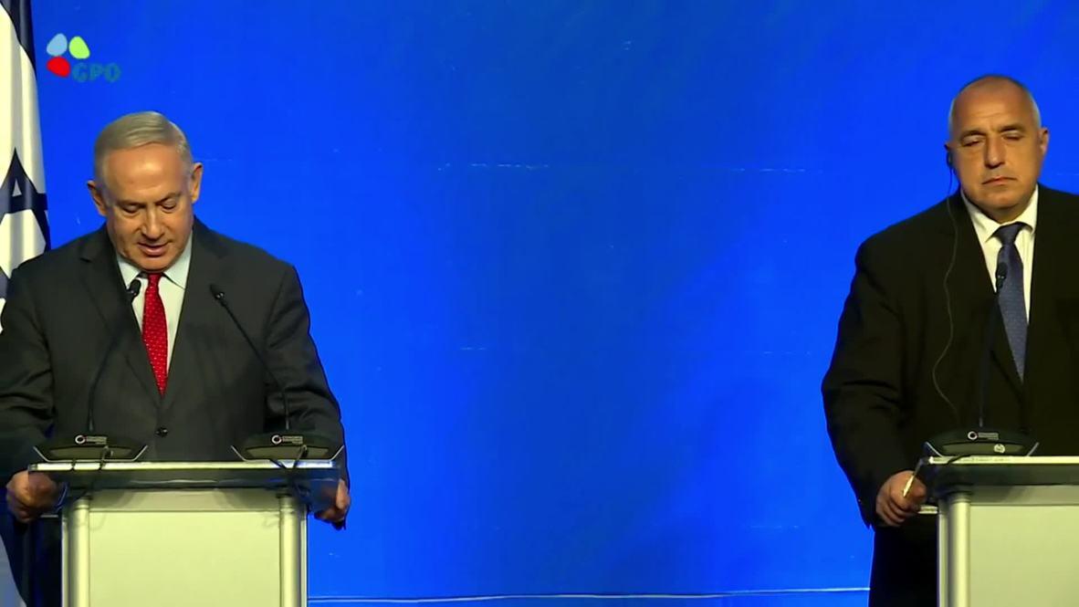 "Bulgaria: Netanyahu advierte a Europa sobre los ""ataques terroristas"" iraníes"