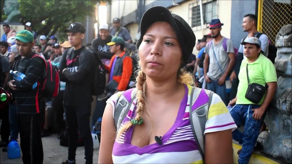 Guatemala: Migrants cross into Mexico in search of ''American dream'