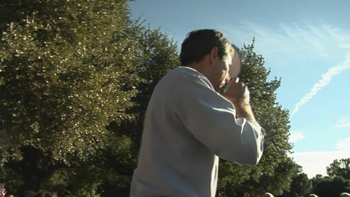 USA: 'Make the world a Beto place' - O'Rourke roadshow hits Dallas