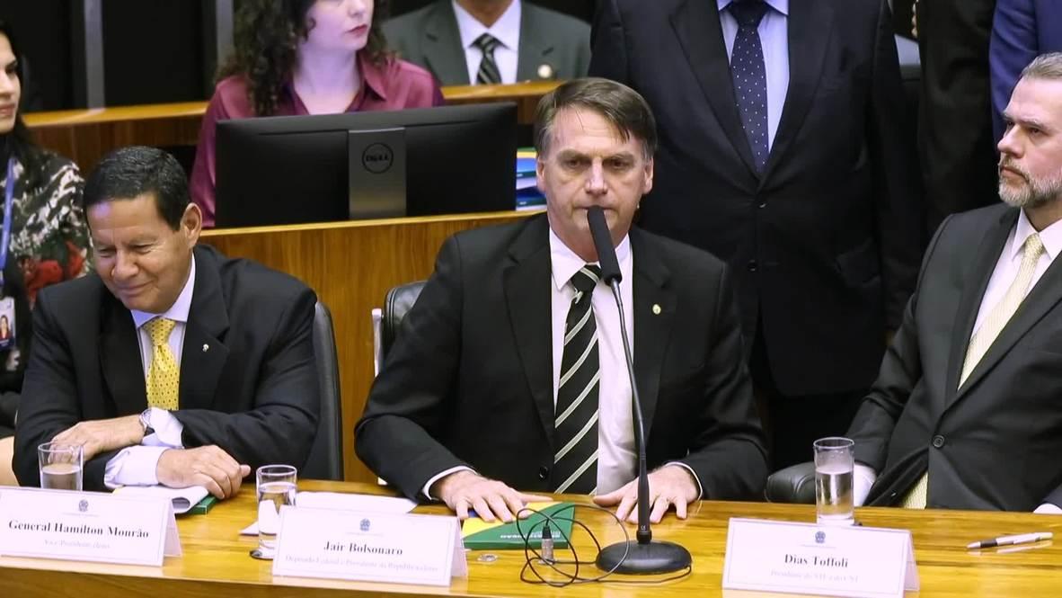 Brazil: Bolsonaro celebrates 30th anniversary of Brazil's constitution