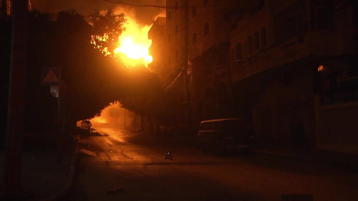 State of Palestine: Israeli air strikes destroy Hamas TV station headquarters in Gaza