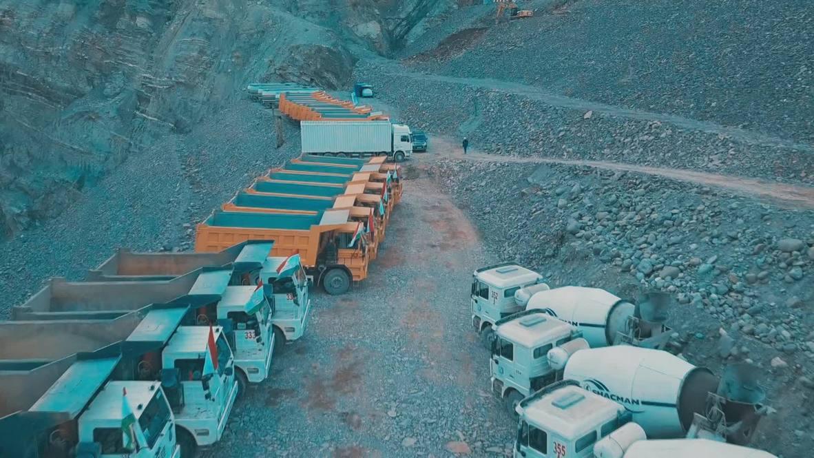 Tayikistán: Preparativos finales en curso de la futura represa hidroeléctrica más grande del mundo