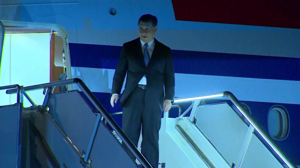 Papúa Nueva Guinea: Xi llega a Port Moresby antes de la Cumbre de APEC