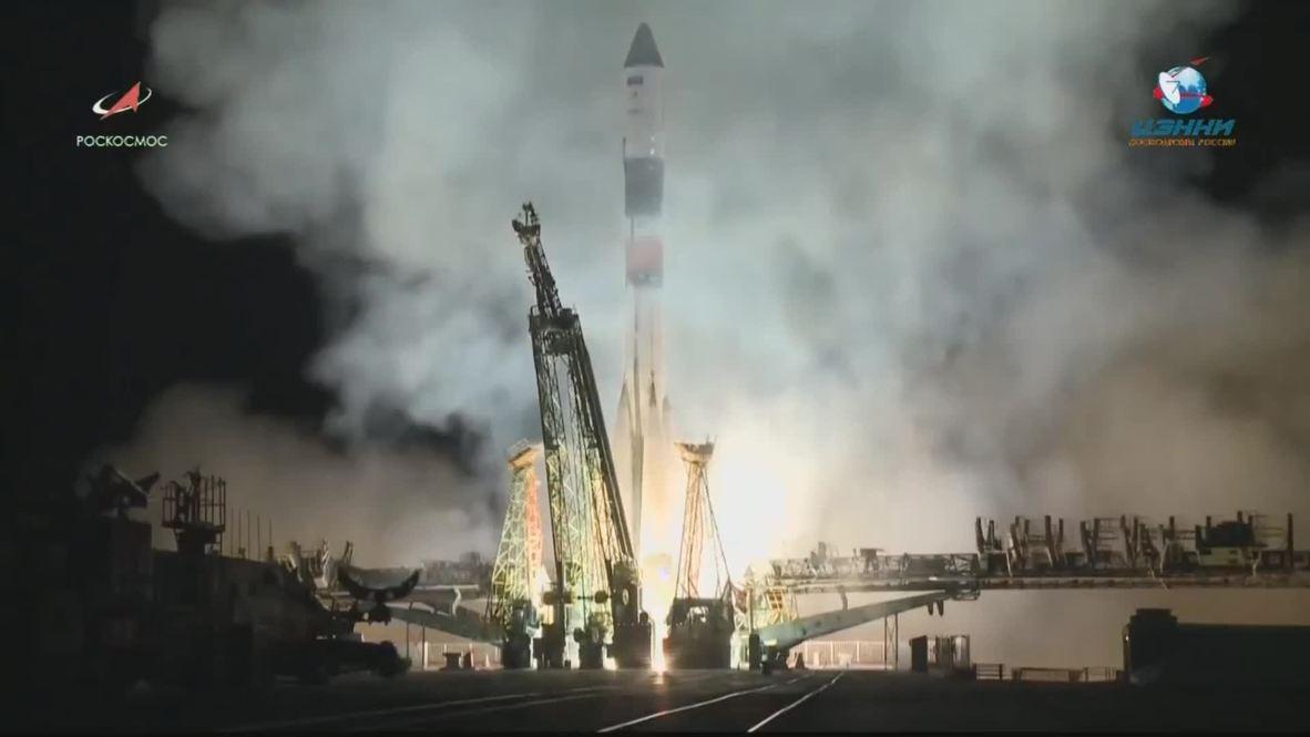 Kazajstán: El cohete Soyuz-FG lanzado al espacio con éxito