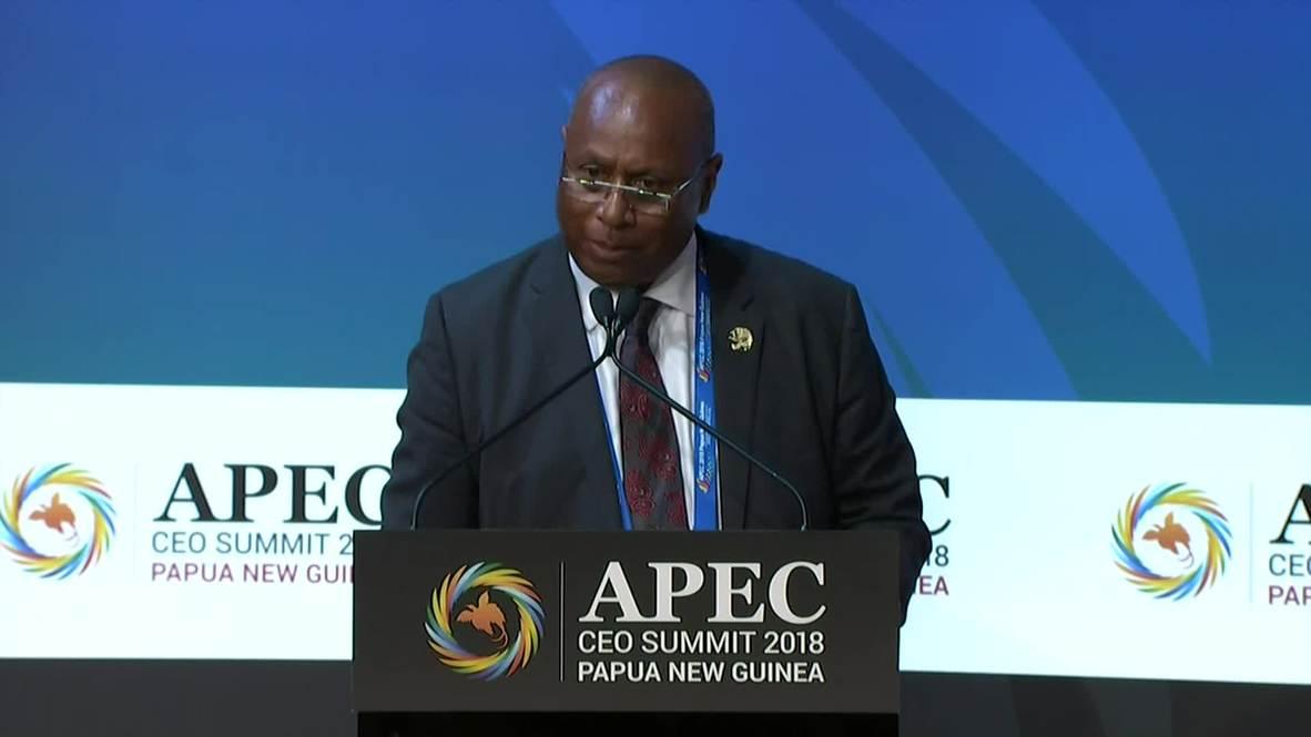 Papua New Guinea: APEC CEO Summit closes, chairmanship handover to Chile