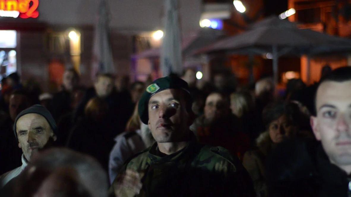 Bosnia and Herzegovina: Hundreds join anti-migrant protest in Bihac