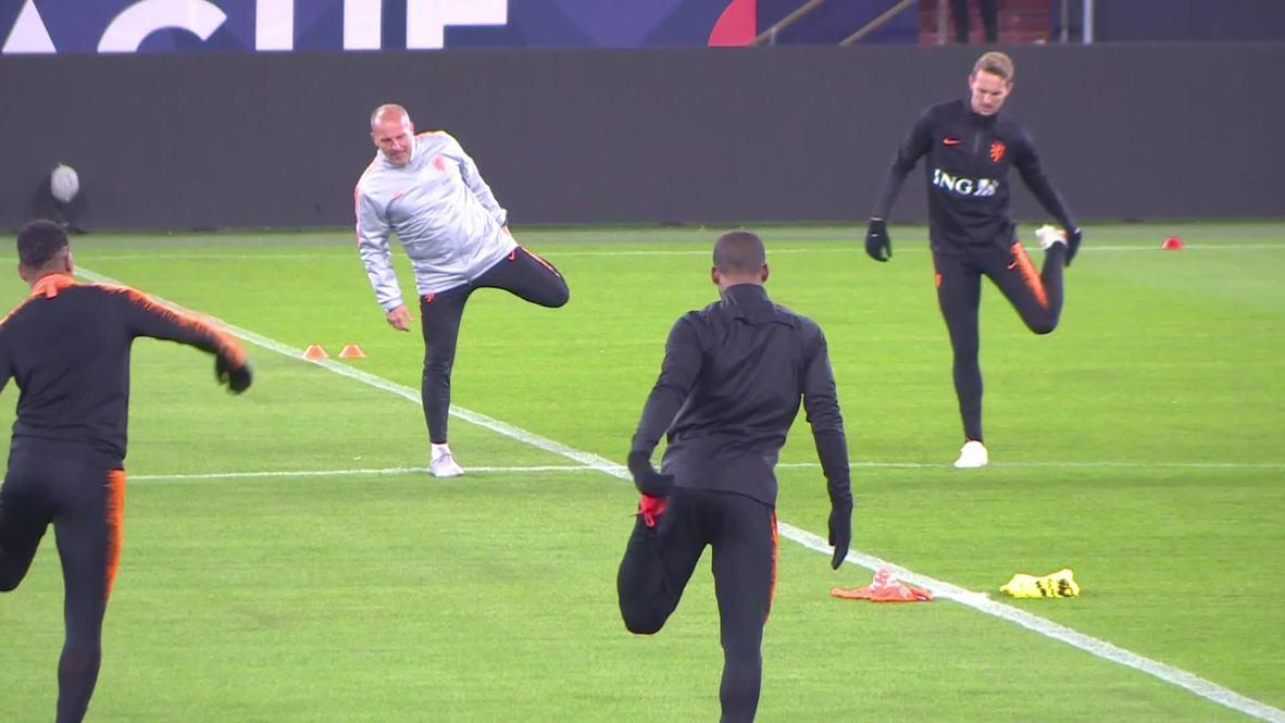 Germany: Dutch national team optimistic ahead of Germany match