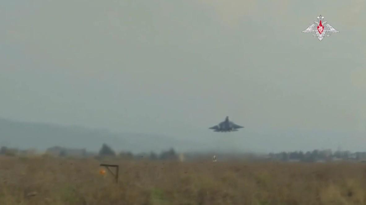 Syria: Russian fifth-generation Su-57 performs combat flights