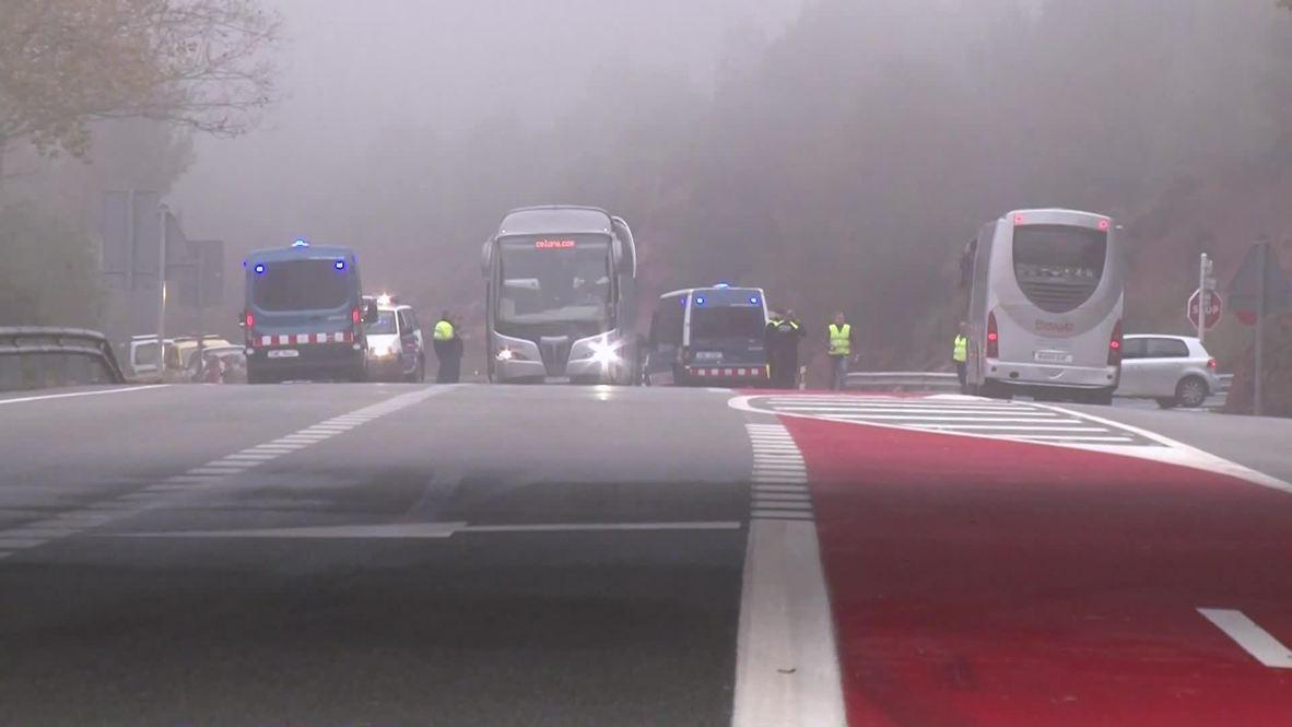 Spain: One dead, 44 injured after train derails near Barcelona