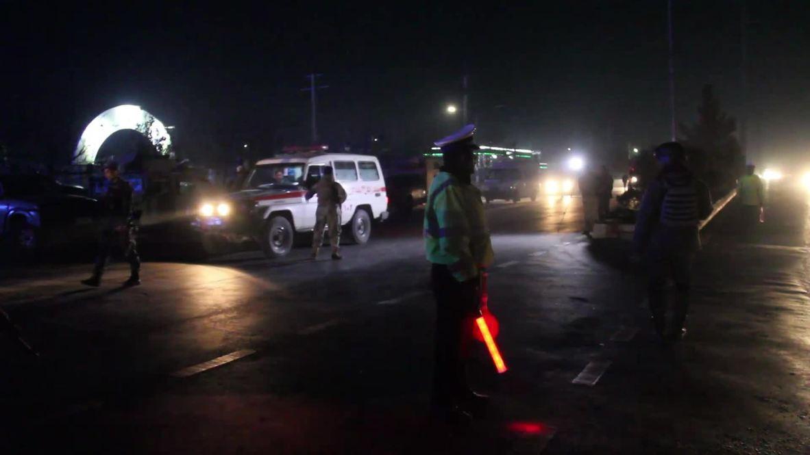 Afganistán: Al menos 43 muertos y decenas de heridos tras ataque suicida en Kabul