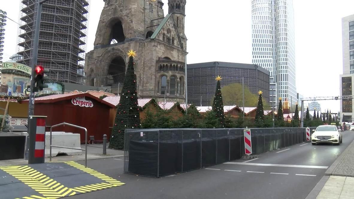 Alemania: Aumenta la seguridad en el mercado navideño de Berlín atacado en 2016