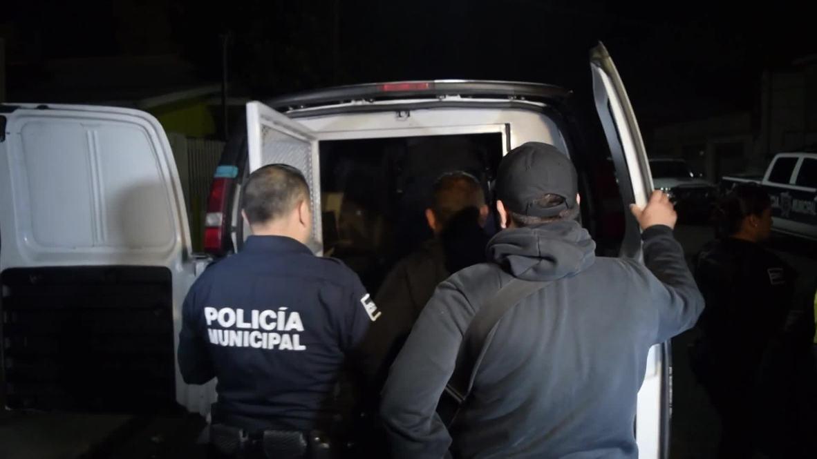 Mexico: One detained as migrant caravan sleeps rough near US border