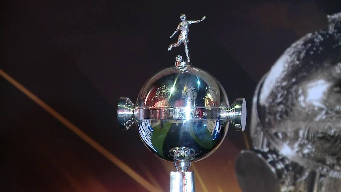 Argentina: Copa Libertadores trophy goes on display at River