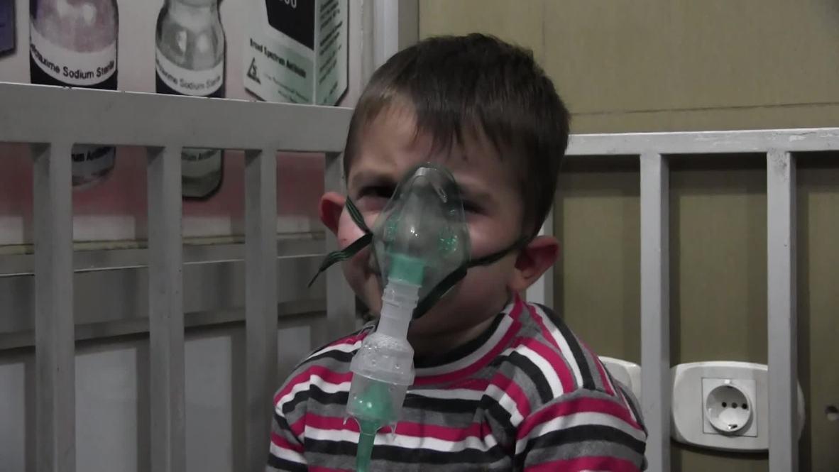 Siria: 50 hospitalizados tras un ataque con gas venenoso Alepo- TV estatal
